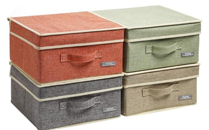 YueYue linen storage bins