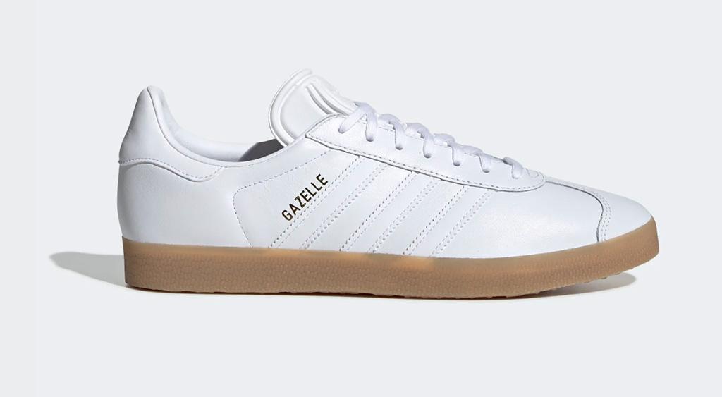 adidas gazelle shoes, white sneakers