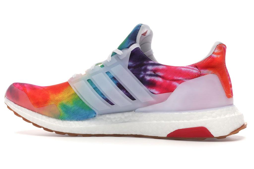Nice Kicks x Adidas UltraBoost, woodstock, tie-dye sneakers