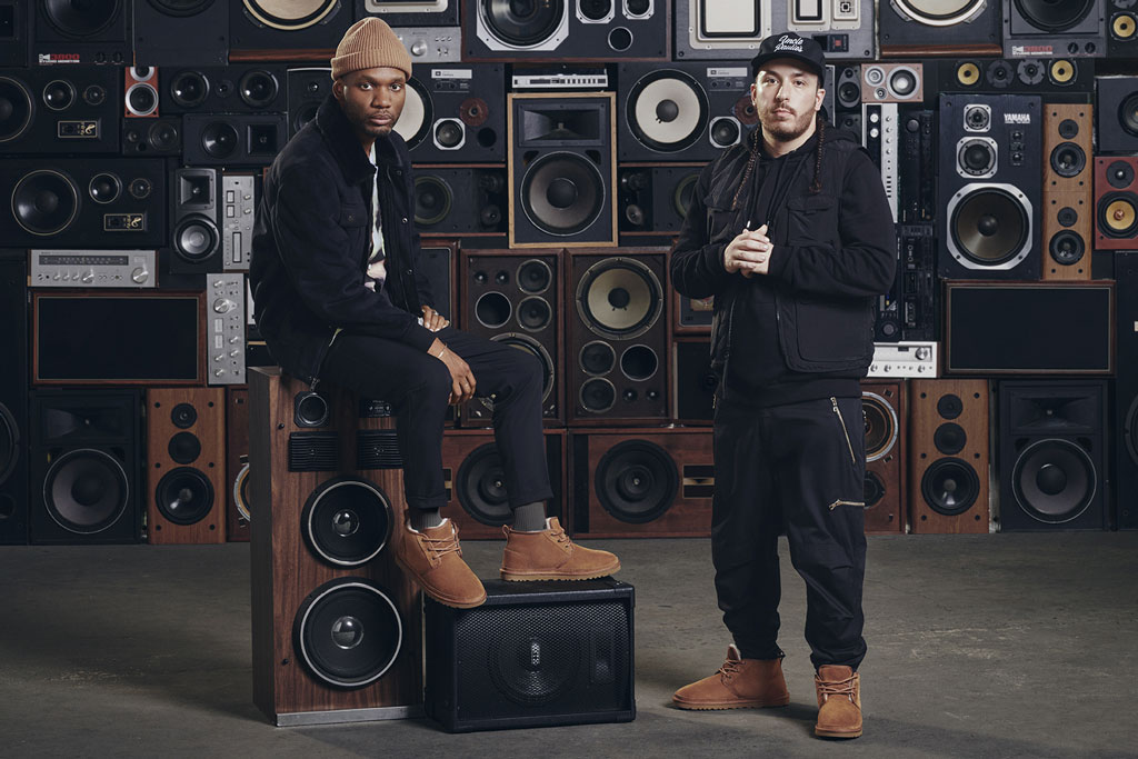 The Cozy Boys in an Ugg x Footaction campaign.