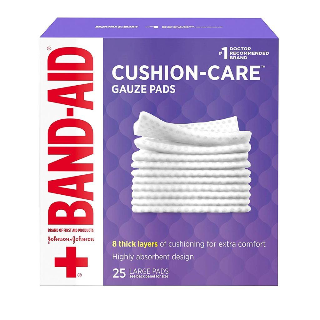 band-aid gauze pad