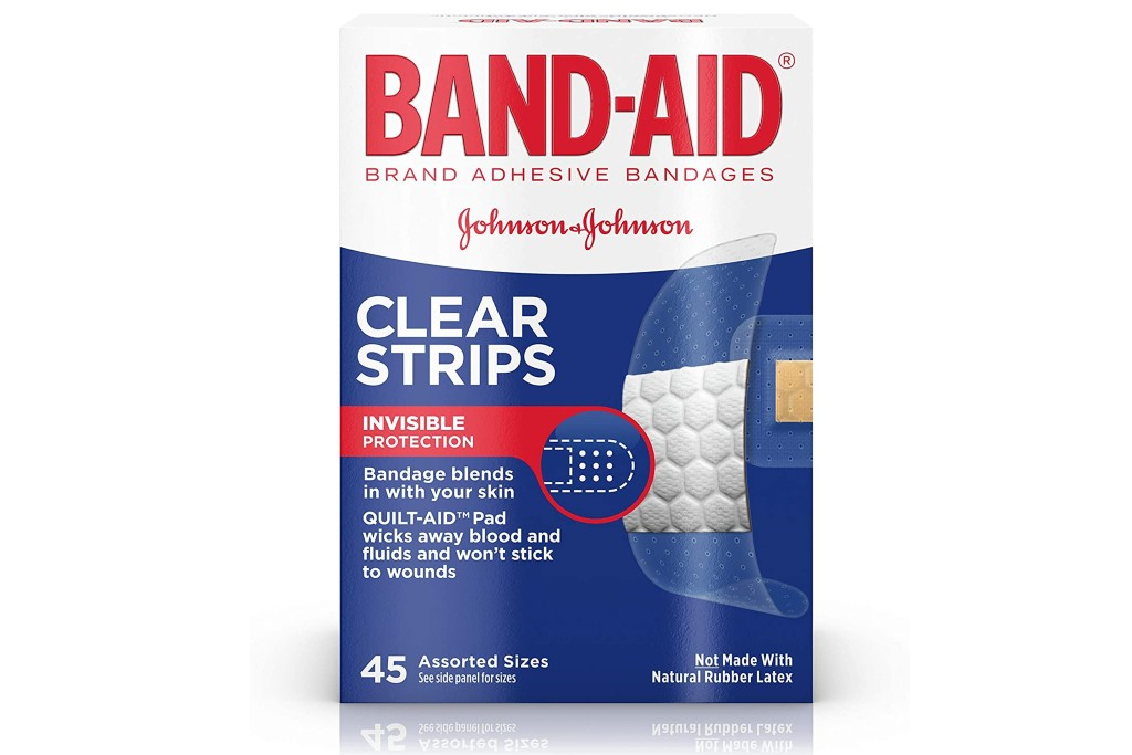 Band-Aid Brand Clear Strips
