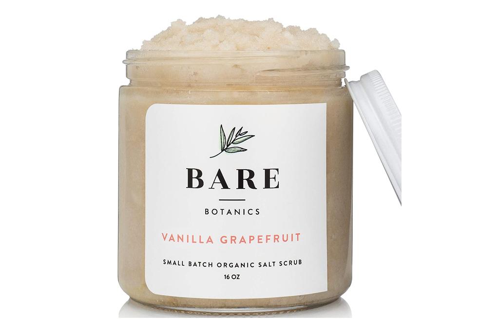 bare botanics, scrub