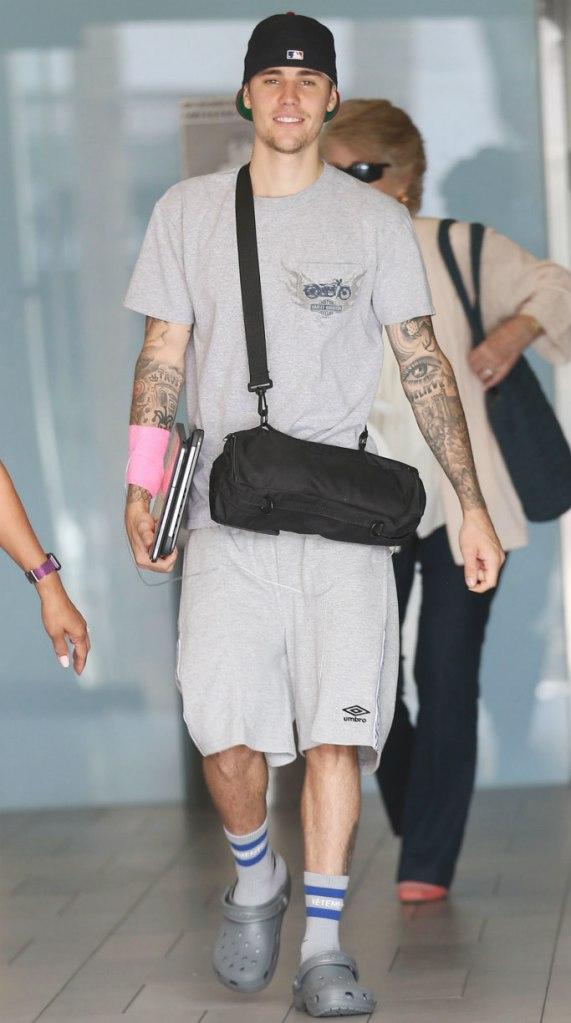 Justin Bieber, Crocs