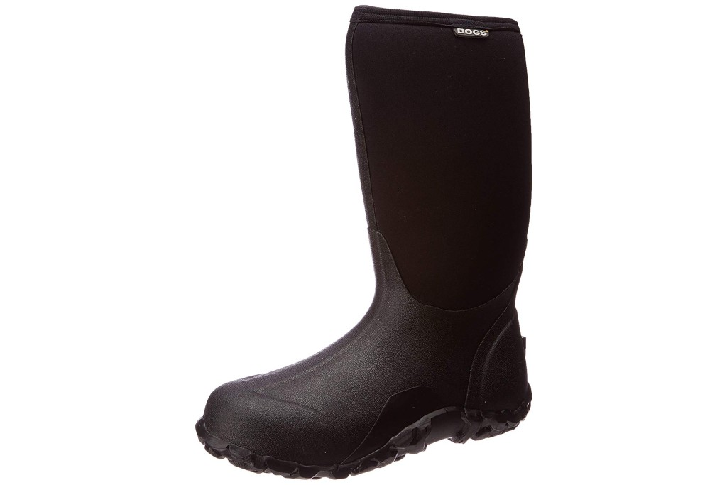 bogs insulated rain boots, cold-weather rain boots for men