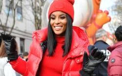 Ciara at the Macy's Thanksgiving Parade