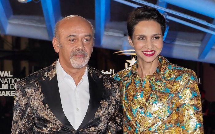 Christian Louboutin and Farida KhelfaOpening Ceremony, 18th Marrakech International Film Festival, Morocco - 29 Nov 2019