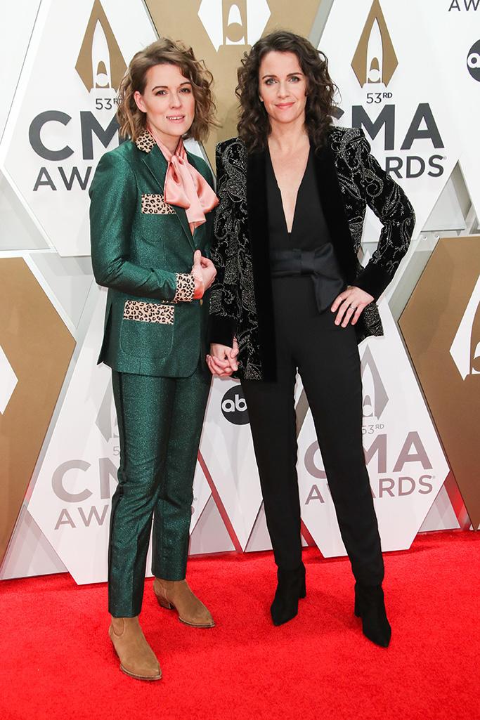 Brandi Carlile and Catherine Shepherd53rd Annual CMA Awards, Arrivals, Bridgestone Arena, Nashville, USA - 13 Nov 2019