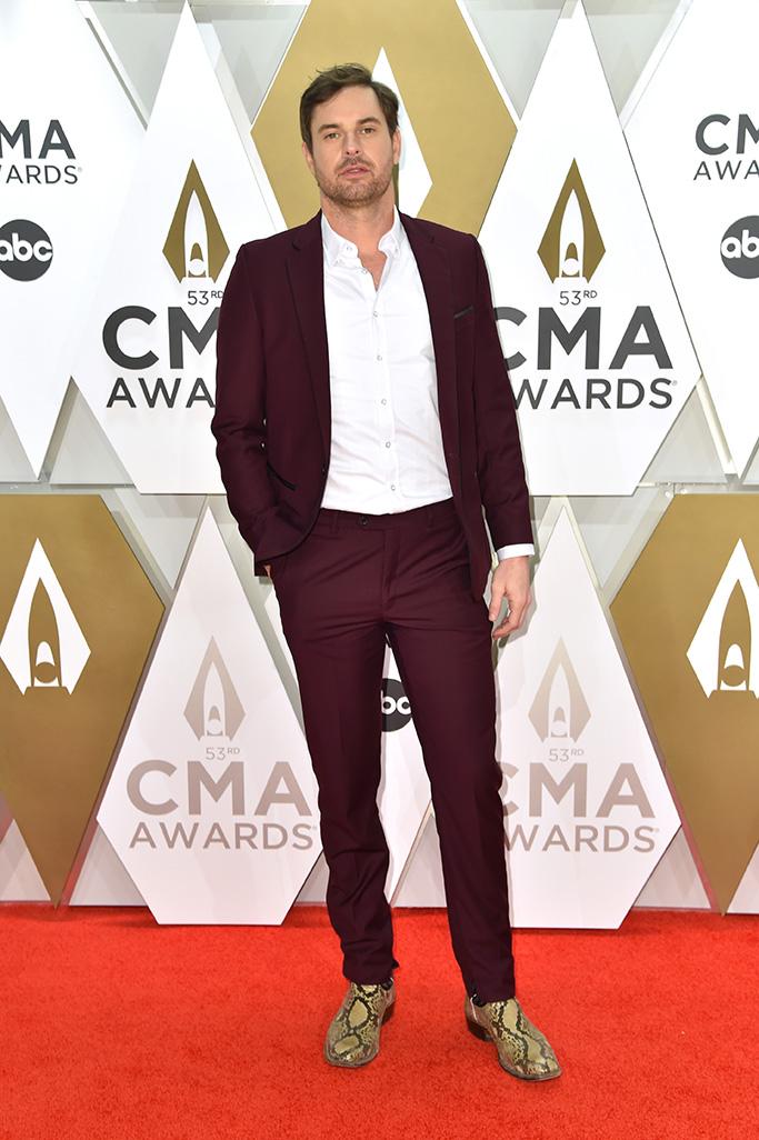Matt Stell53rd Annual CMA Awards, Arrivals, Bridgestone Arena, Nashville, USA - 13 Nov 2019