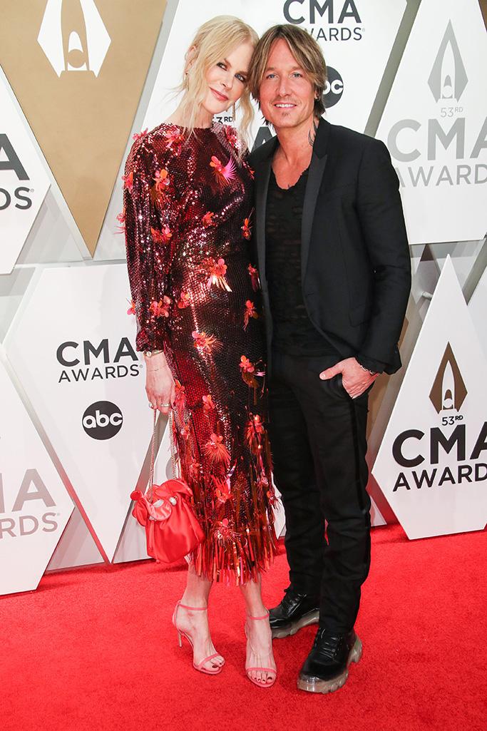 Nicole Kidman and Keith Urban53rd Annual CMA Awards, Arrivals, Bridgestone Arena, Nashville, USA - 13 Nov 2019