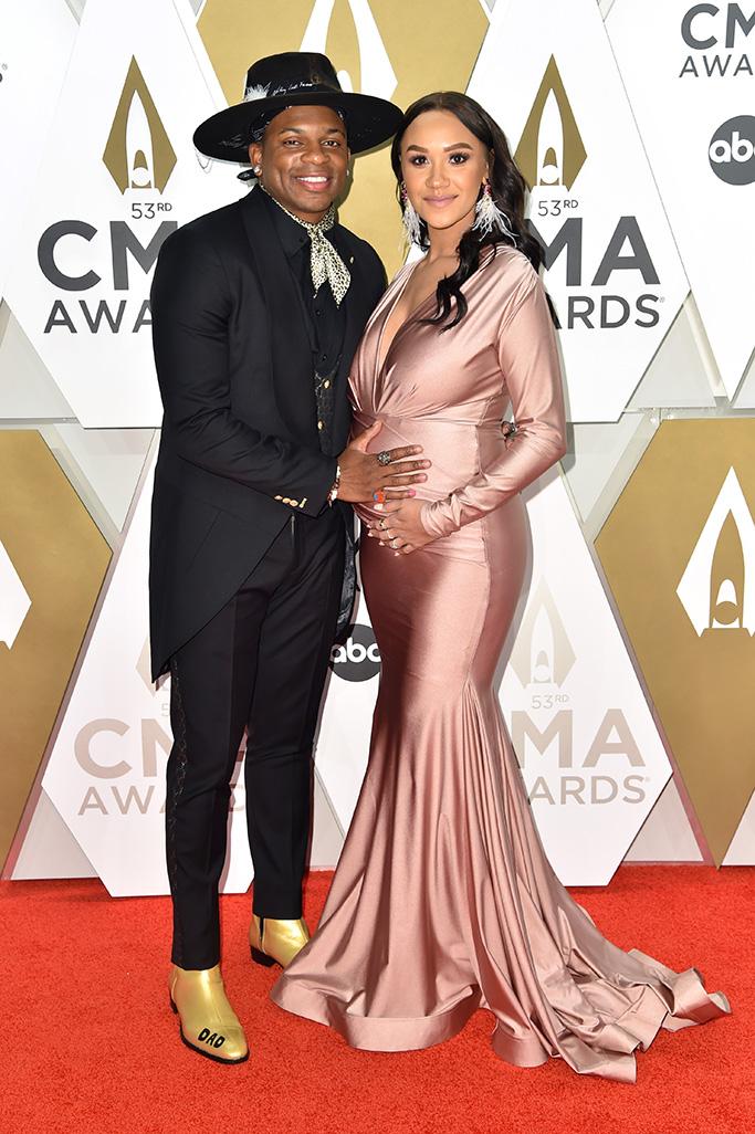 Jimmie Allen and Alexis Gale53rd Annual CMA Awards, Arrivals, Bridgestone Arena, Nashville, USA - 13 Nov 2019