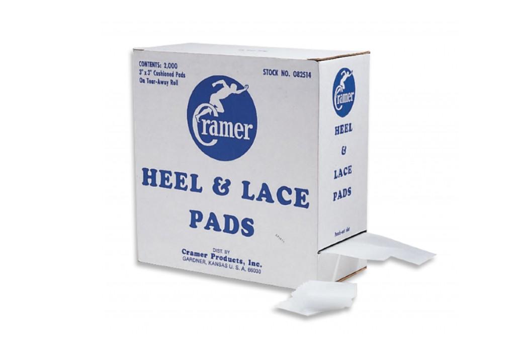 Cramer Heel & Lace Pads Box of 2000