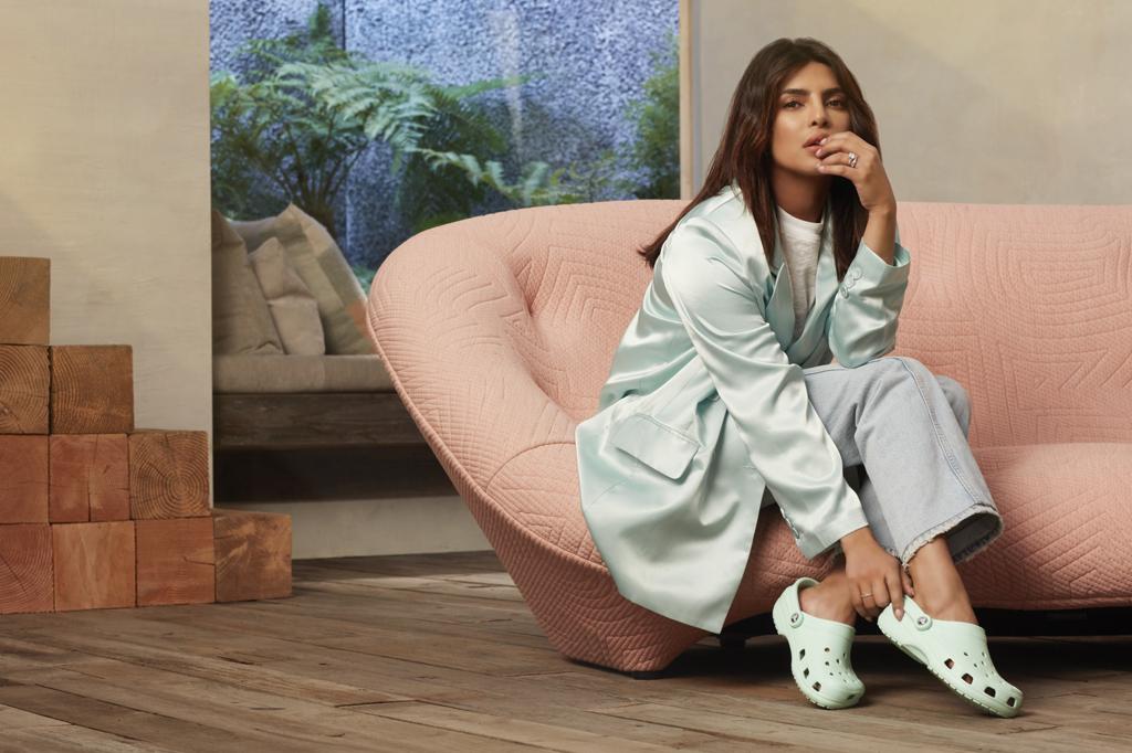 Priyanka Chopra Crocs