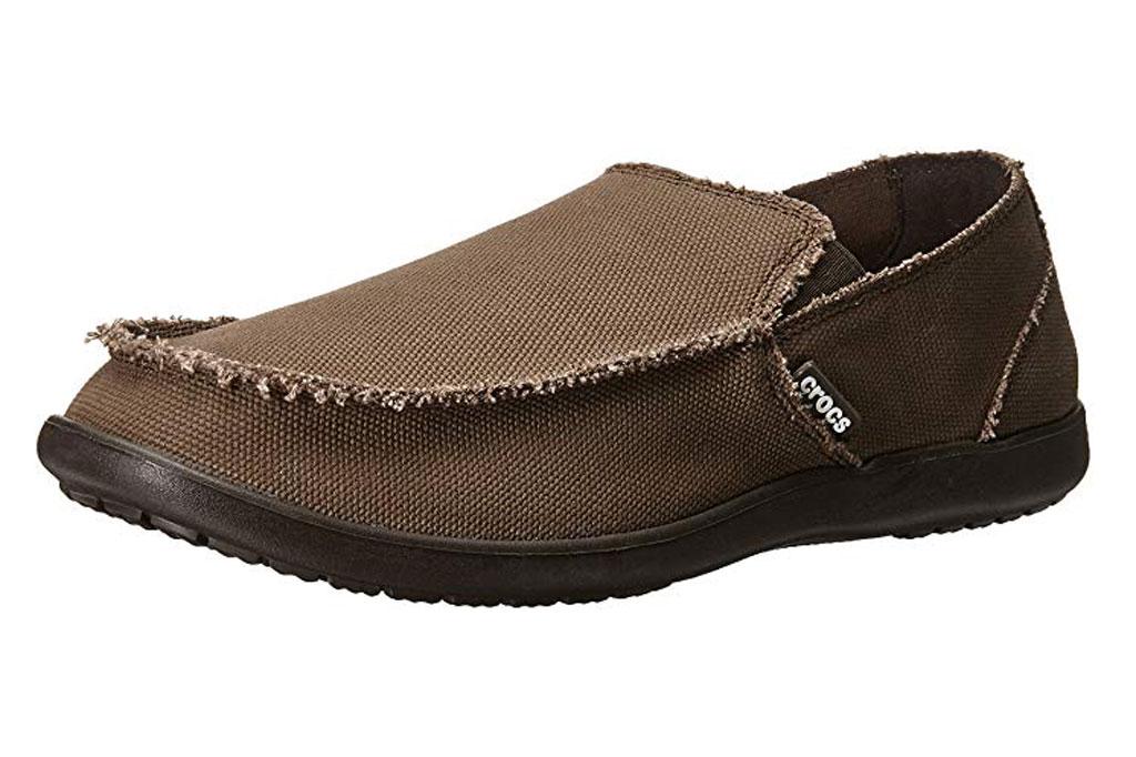 Crocs, mens loafers, santa cruz