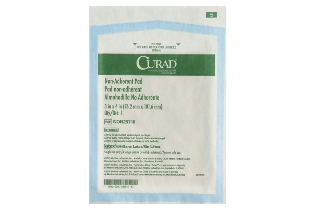Curad Sterile Non-Adherent Pads