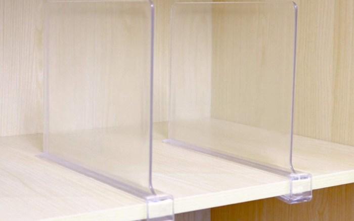 CY craft Acrylic Shelf Dividers