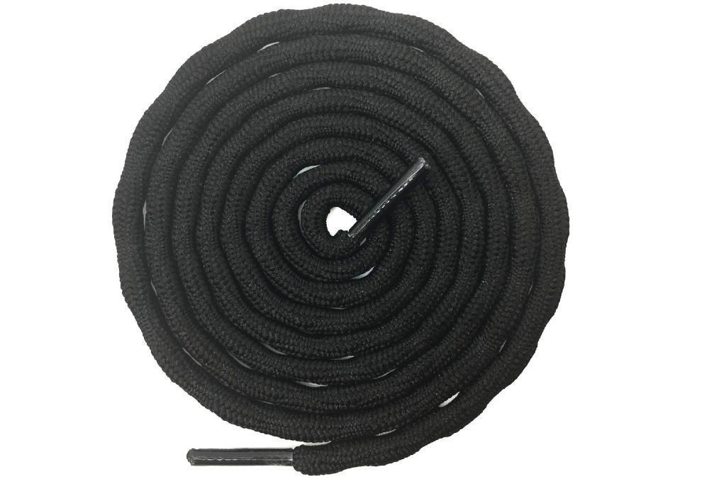 delele round wave non-slip laces
