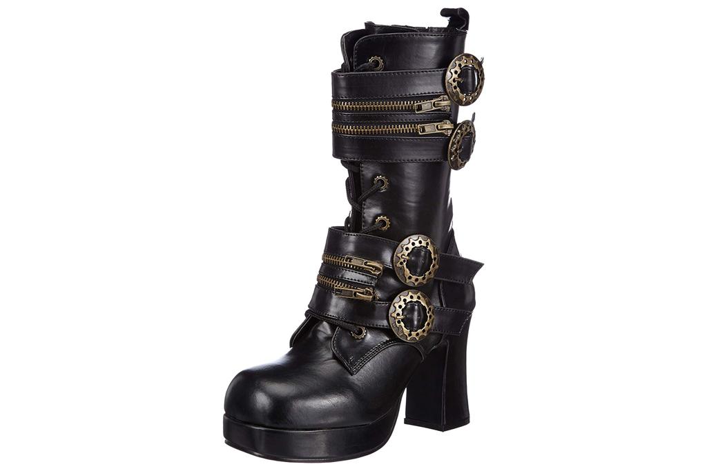 demonia steampunk boots