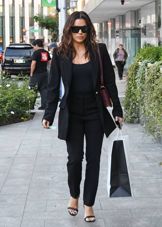 Eva Longoria is seen in Los Angeles, California.Pictured: Eva LongoriaRef: SPL5131190 221119 NON-EXCLUSIVEPicture by: Bauer-Griffin / SplashNews.comSplash News and PicturesLos Angeles: 310-821-2666New York: 212-619-2666London: +44 (0)20 7644 7656Berlin: +49 175 3764 166photodesk@splashnews.comWorld Rights