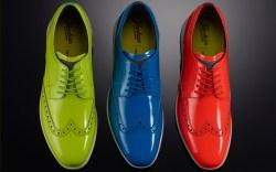 florsheim, neon, mens shoes