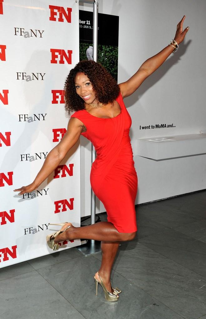 Serena WilliamsFootwear News 2010 Achievement Awards at MoMA, New York, America - 29 Nov 2011