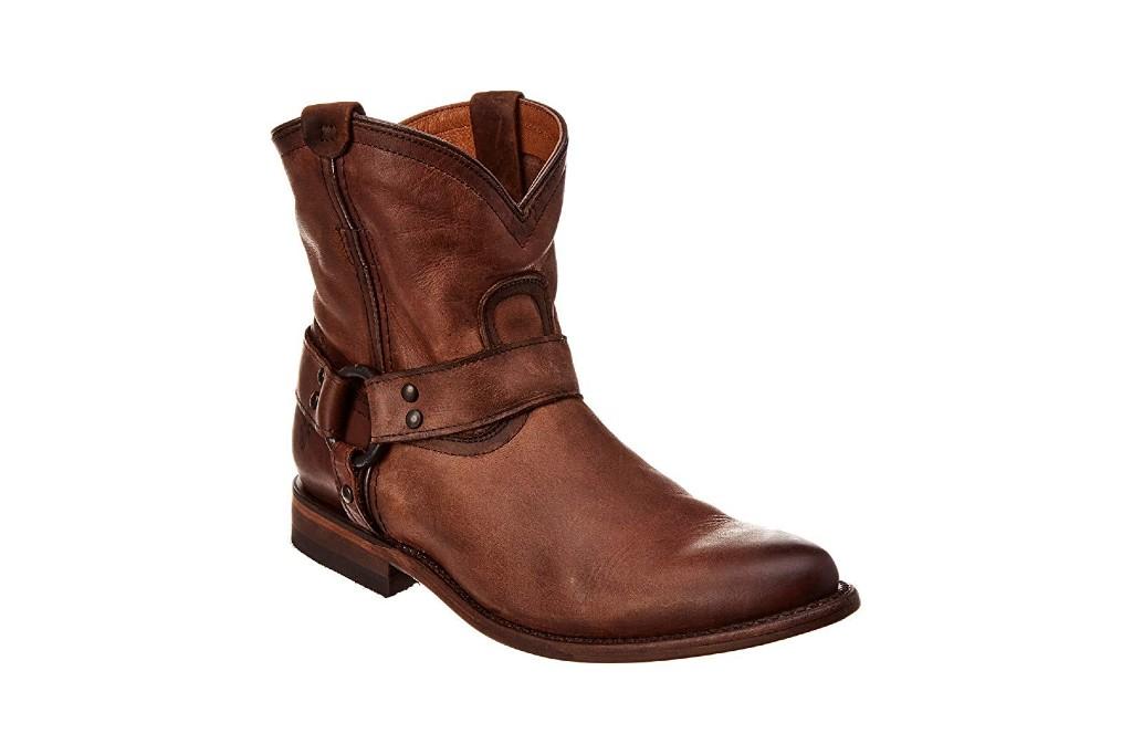frye wyatt short western boot