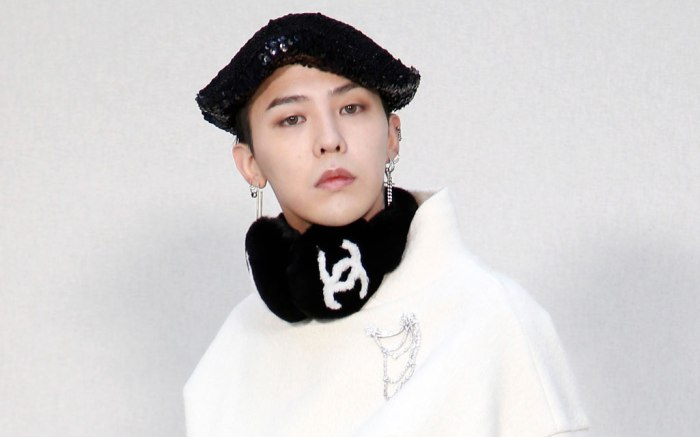 G-Dragon, chanel, front row, january 2017