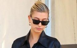 Hailey Baldwin, celebrity style, sunglasses, alexander