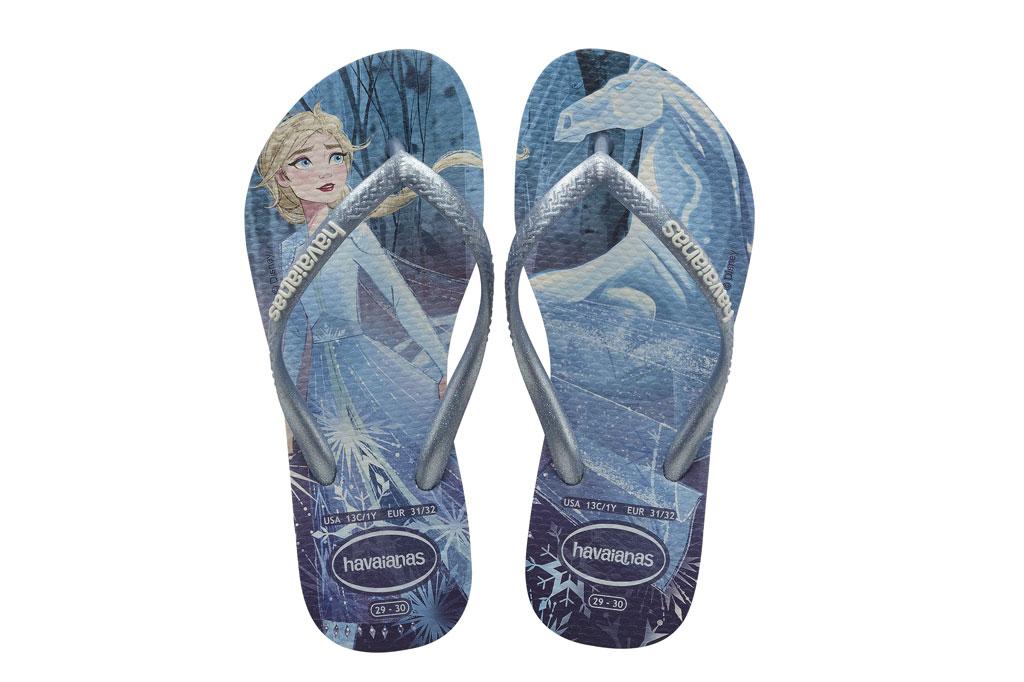 Havaianas Frozen II flip-flops.