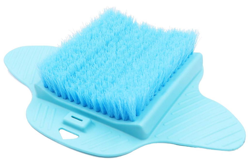 healthstar foot scrubber with bristles