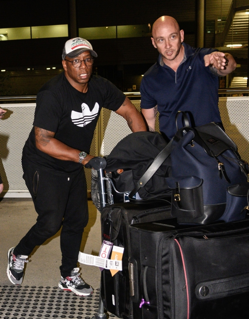 ian wright, brisbane australia, brisbane airport, I'm a Celebrity Get Me Out of Here
