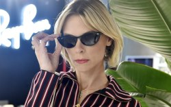 Jaime King, ray-ban, celebrity style, sunglasses,