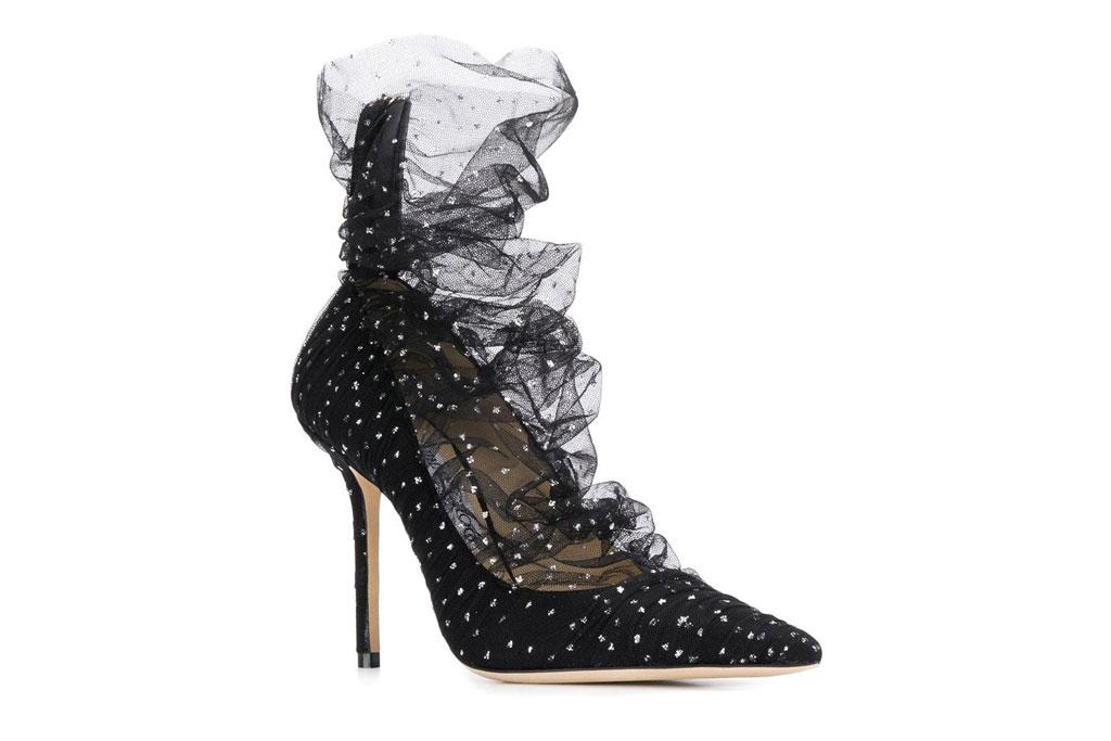 Jimmy Choo , lavish pumps, stilettos