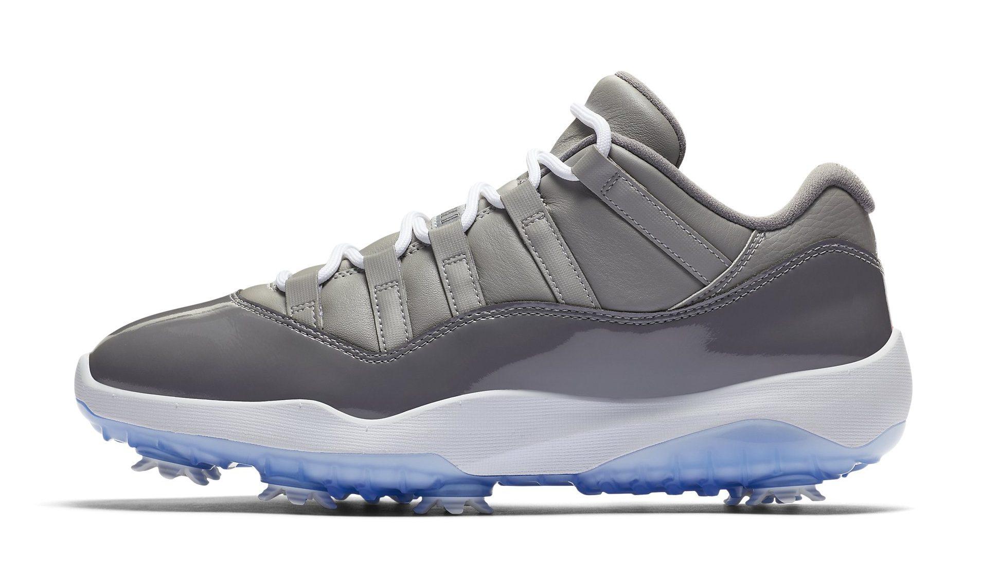 Air Jordan 11 Low Golf 'Cool Grey