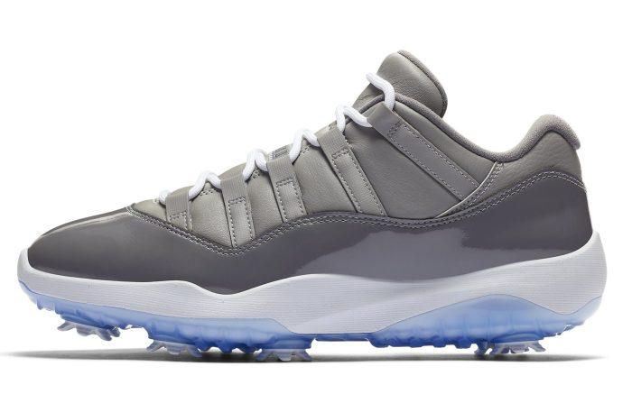 Air Jordan 11 Low Golf 'Cool Grey'