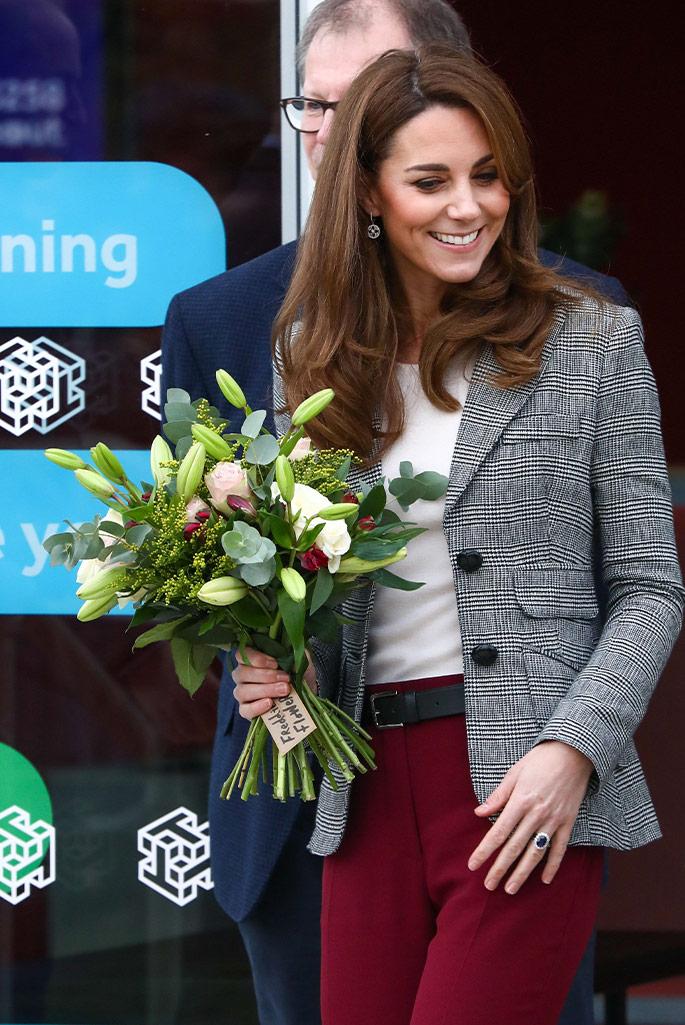 Kate Middleton, Smythe, Gianvito Rossi.