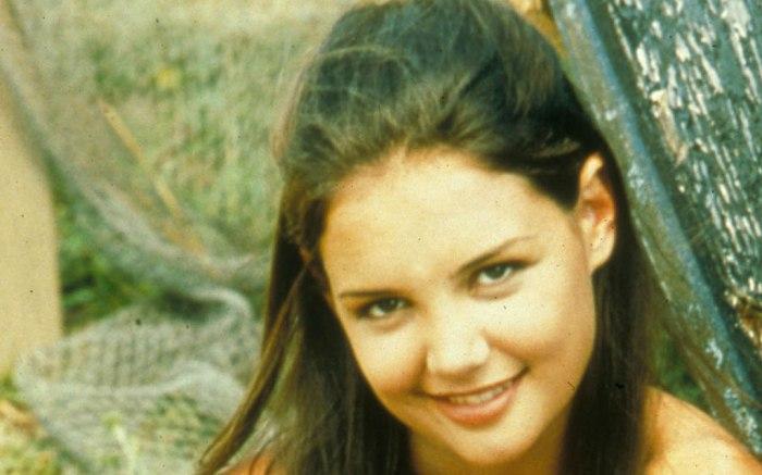 Katie Holmes, dawsons creek, celebrity style, 1998