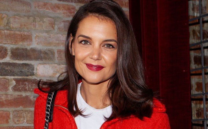 Katie Holmes, tribeca, chanel, Through Her Lens: The Tribeca Chanel Women's Filmmaker Program Luncheon