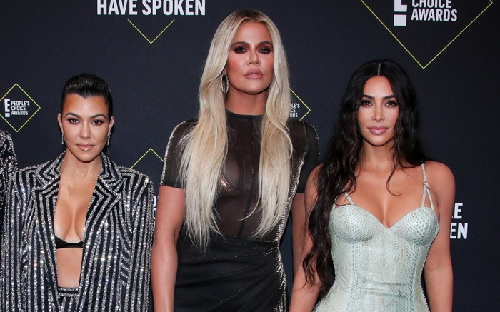Kris Jenner, Kourtney Kardashian, Khloe Kardashian and Kim Kardashian West45th Annual People's Choice Awards, Arrivals, Barker Hanger, Los Angeles, USA - 10 Nov 2019