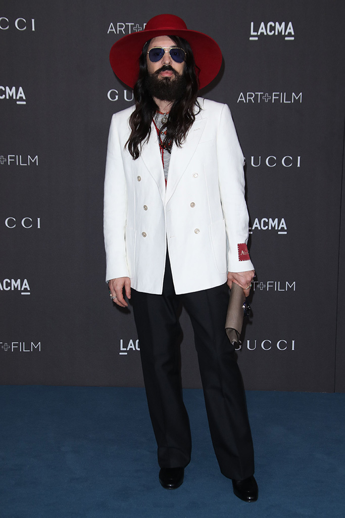Alessandro MicheleLACMA Art and Film Gala, Arrivals, Los Angeles, USA - 02 Nov 2019