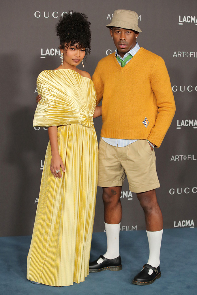 Yara Shahidi and Tyler, the CreatorLACMA Art and Film Gala, Arrivals, Los Angeles, USA - 02 Nov 2019