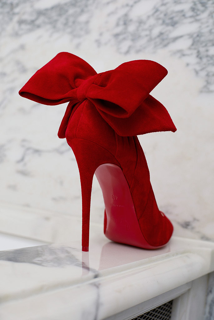 Christian Louboutin x Mytheresa holiday capsule.