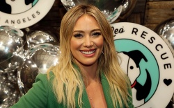 "Hilary Duff attends the ""Love Leo"