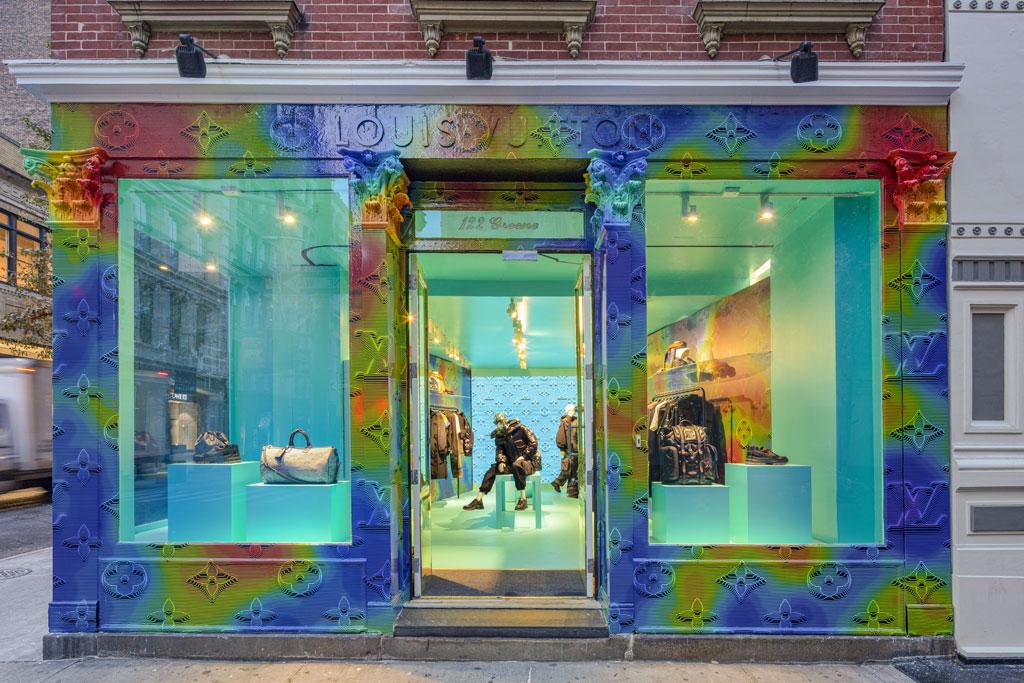 Louis Vuitton, Soho, nyc, temporary residency, louis vuitton 2054