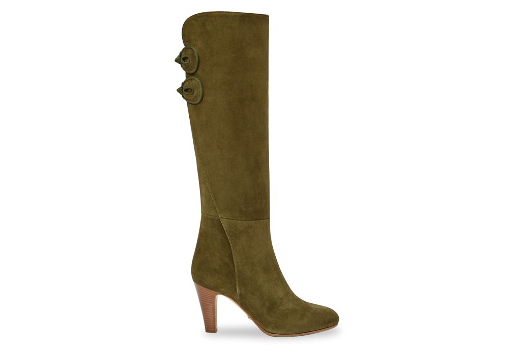 sarah flint, boot, marina, green