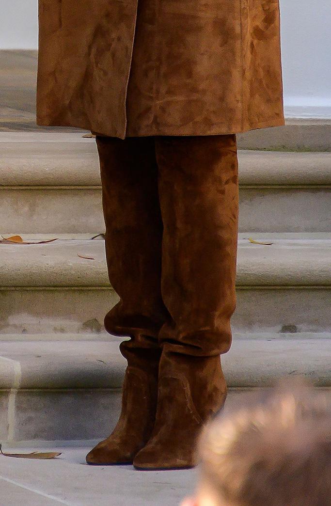 First Lady Melania Trump present the National Thanksgiving Turkey in the Rose Garden of the White HouseNational Thanksgiving turkey presidential pardon, Washington DC, USA - 26 Nov 2019