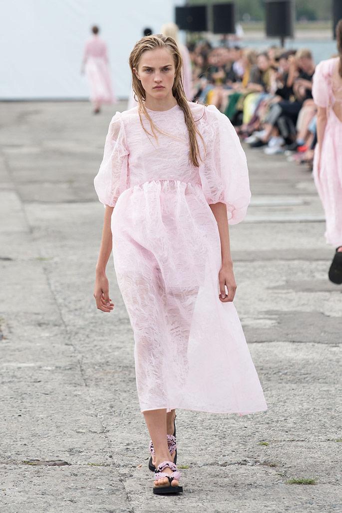 Cecilie Bahnsen spring '20, Copenhagen Fashion Week.