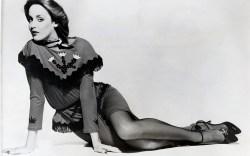 Jerry Hall wearing Terry de Havilland