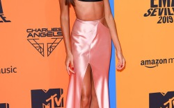 Joan Smalls at the 26th MTV EMAs