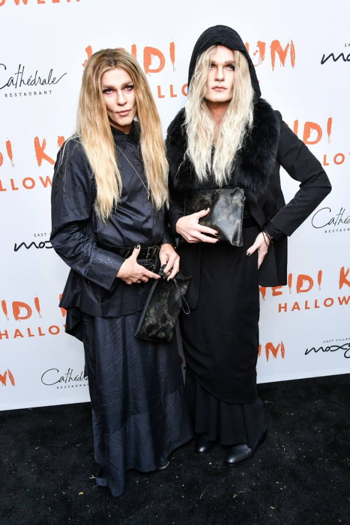heidi klum, halloween party, nph, neil patrick harris, david burtka, the row, mary kate and ashley